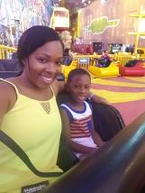 Las Vegas-Circus Circus Adventuredome Theme Park